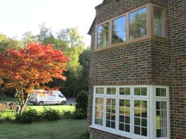 natural oak timber framing windows