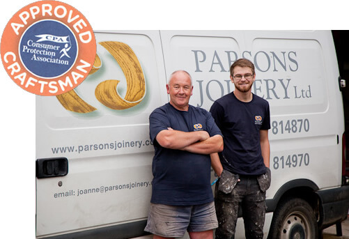 Joinery installation team CPA