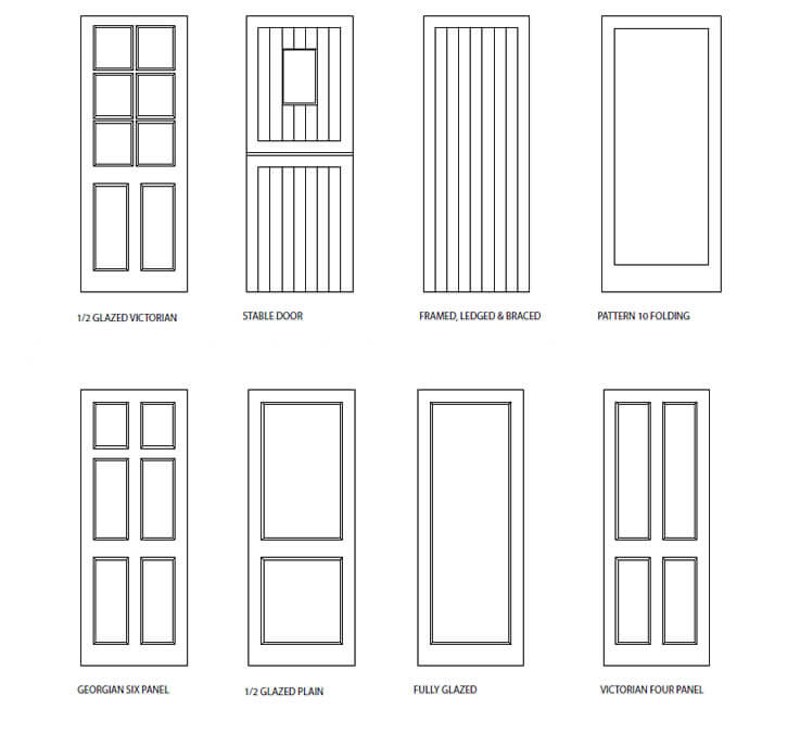 Bespoke wooden door designs