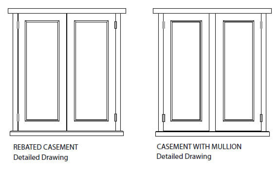Wooden windows sussex parsons joineryreplacement wooden windows for Casement window design plans