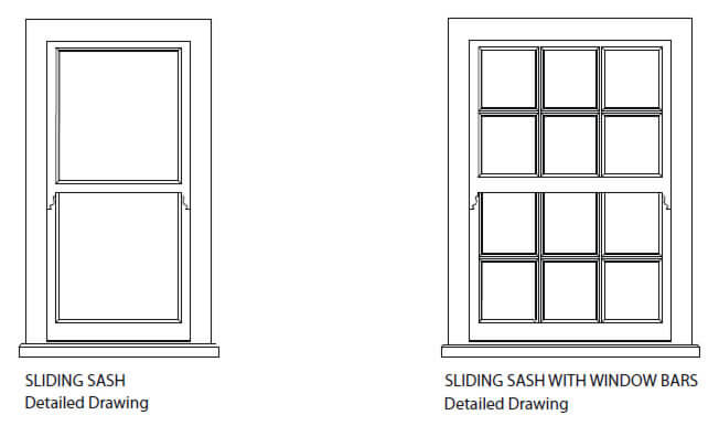 Wooden windows sussex parsons joineryreplacement wooden for Sash window design