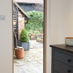 Bespoke European oak exterior doors