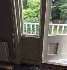 Balcony Door, Parsons Joinery Case Study, Green Lane (15)