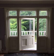 Balcony Door, Parsons Joinery Case Study, Green Lane (17)