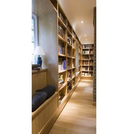 fitted-bespoke-oak-library-1