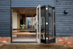 Cleaning bi fold doors
