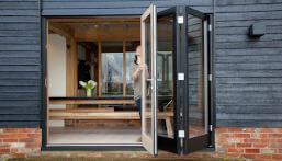 Cleaning bi fold doors