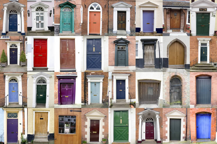 design, timber, ironmongery, finish and glaze consider when replacing your front door